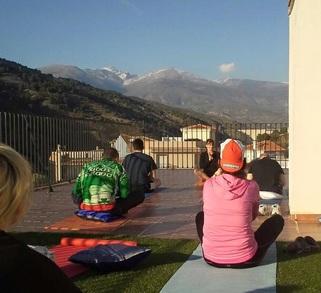 Yoga for Cyclists Sierra Nevada Spain Cycling Yoga Pilates