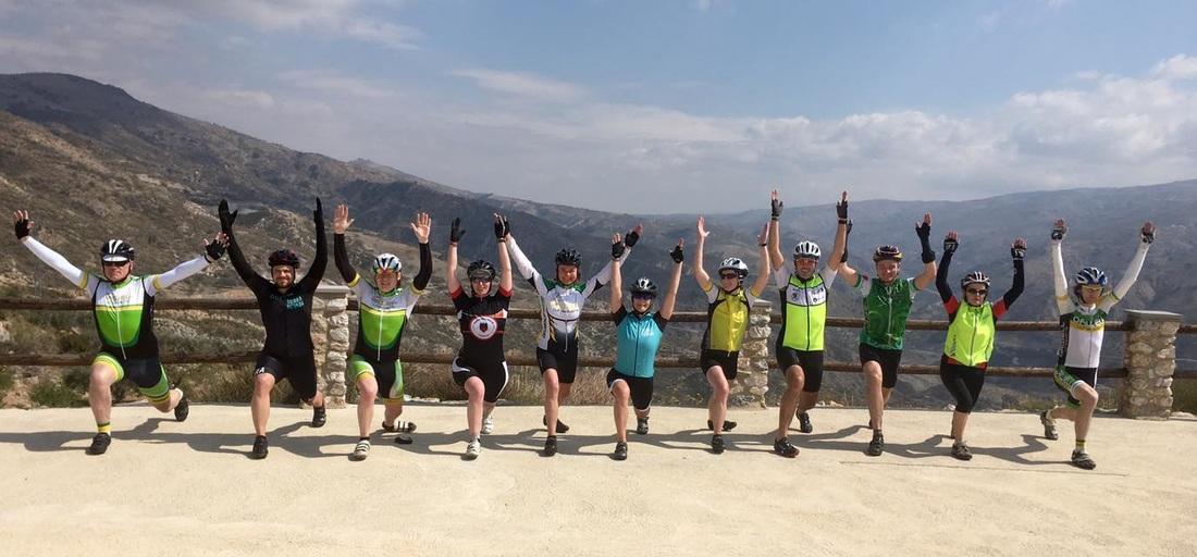 Yoga for Cyclists Sierra Nevada Cycling Spain Yoga Pilates Winter training camp